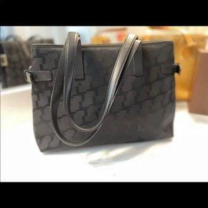 Black Signature Shoulder Bag Lancel,Paris